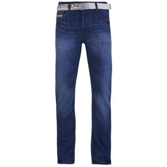 Smith & Jones Men's Furio Denim Jeans - Light Wash