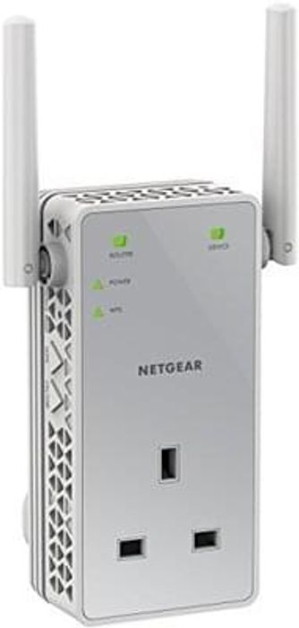 NETGEAR 750 Mbps Dual Band Wi-Fi Range Extender Save £11.46 Free Delivery