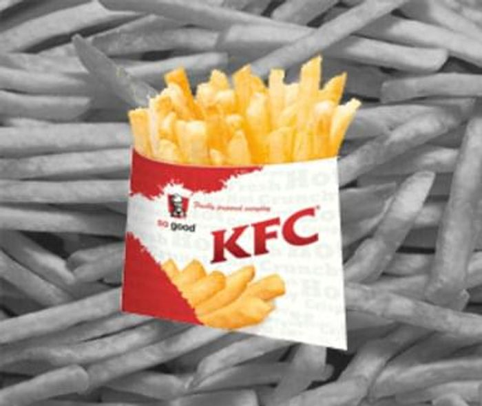 KFC - Free fries on a Friday