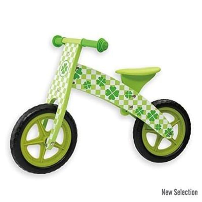 Green Balance Bike Price Drop at Amazon