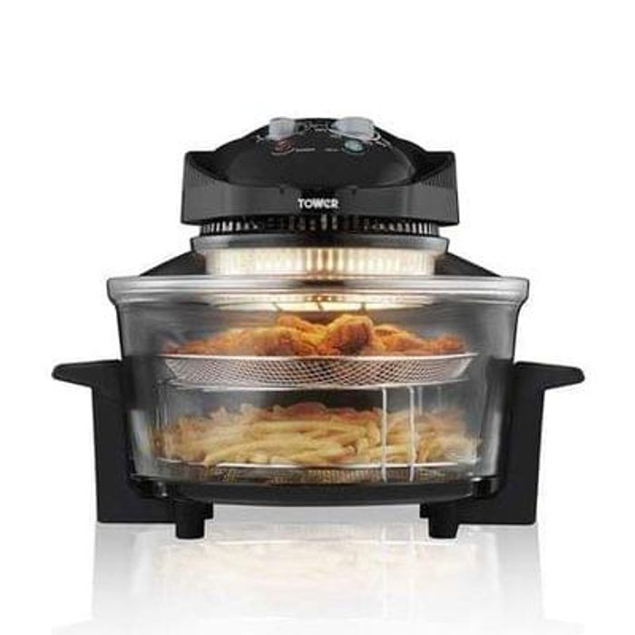 Tower T14001 AirWave Low Fat Air Fryer Save £9.99 Delivery £3.95