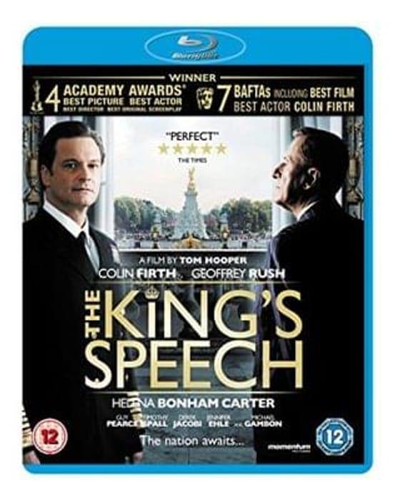 The King's Speech Blu-ray