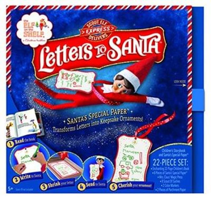"""NEW! Elf on The Shelf """"Letters To Santa"""". Release Date 8th September."""