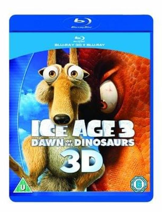 Ice Age 3: Dawn of the Dinosaurs (Blu-ray 3D + Blu-ray)