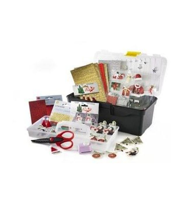 Christmas Bumper Craft Caddy and Accessories reduced to £14.99