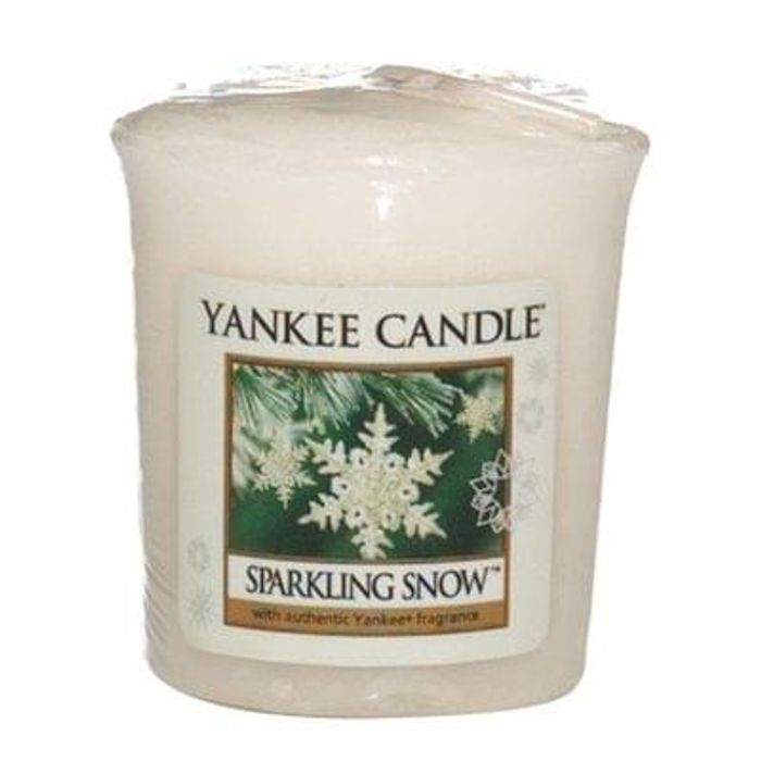 Yankee Candle Sparkling Snow Sampler Votive Candle