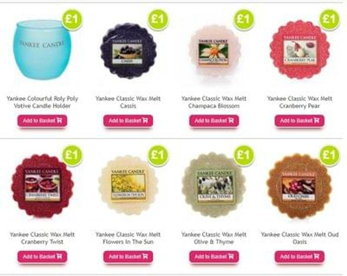 Yankee Candle Wax melts, candles, candle holders