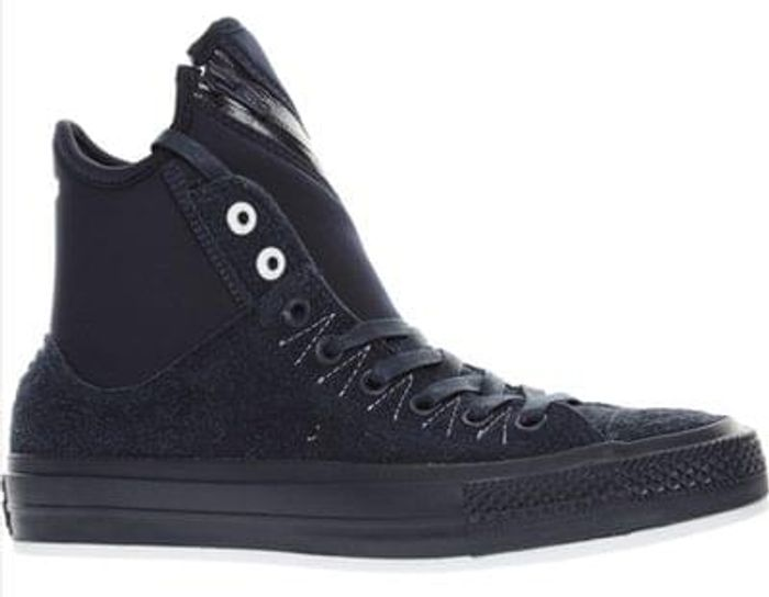 CONVERSE Blue Suede High Top Trainers