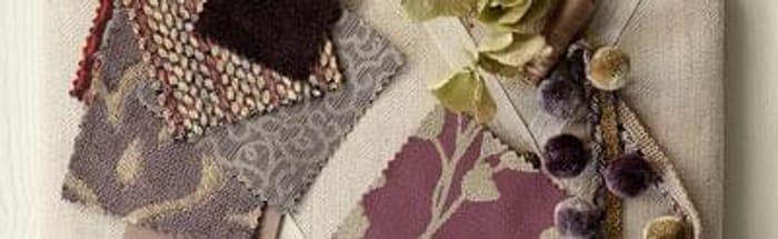 Free fabric samples.