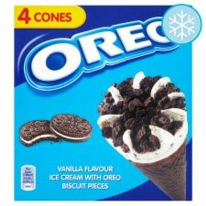Tesco - Oreo Cones 4 X 100Ml