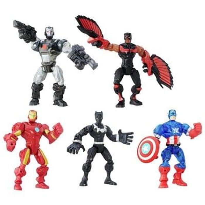 Marvel Super Hero Mashers Figure 5 Pack Save £9 Free C+C