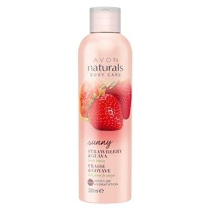 Naturals Strawberry & Guava Body Lotion