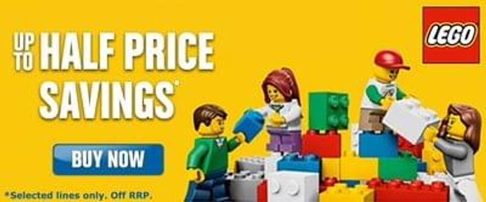 Save up to HALF PRICE on selected LEGO at Toys R Us !
