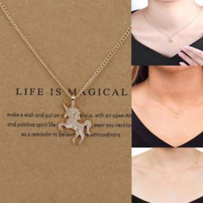 Unicorn cute little necklace