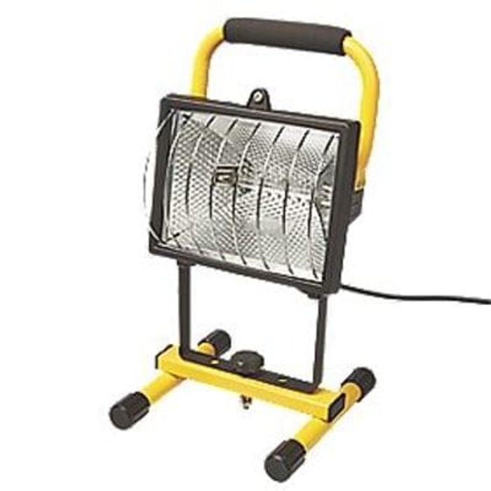 Portable Site Light 220-240V -screwfix