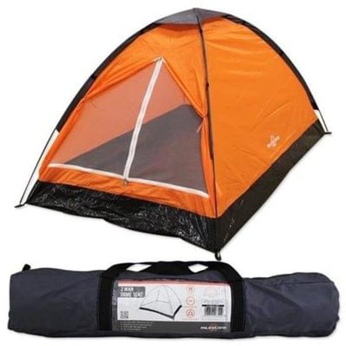 MILESTONE 2 Man Lightweight Dome Camping Tent