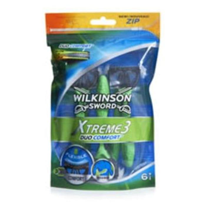 Wilkinson Sword Xtreme 3 Razor Duo 6 Pack *HALF PRICE* Free C+C