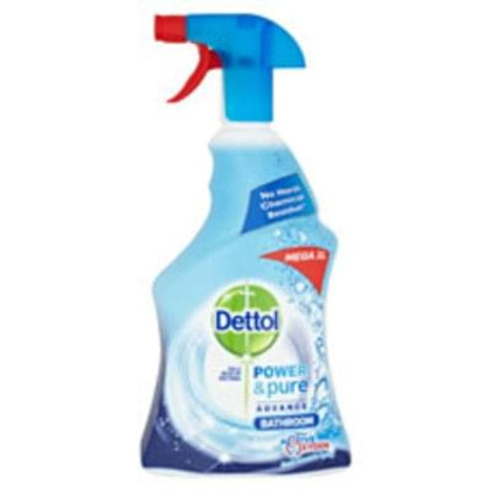 Dettol Power and Pure Bathroom Trigger Spray 1L *HALF PRICE* Free C+C