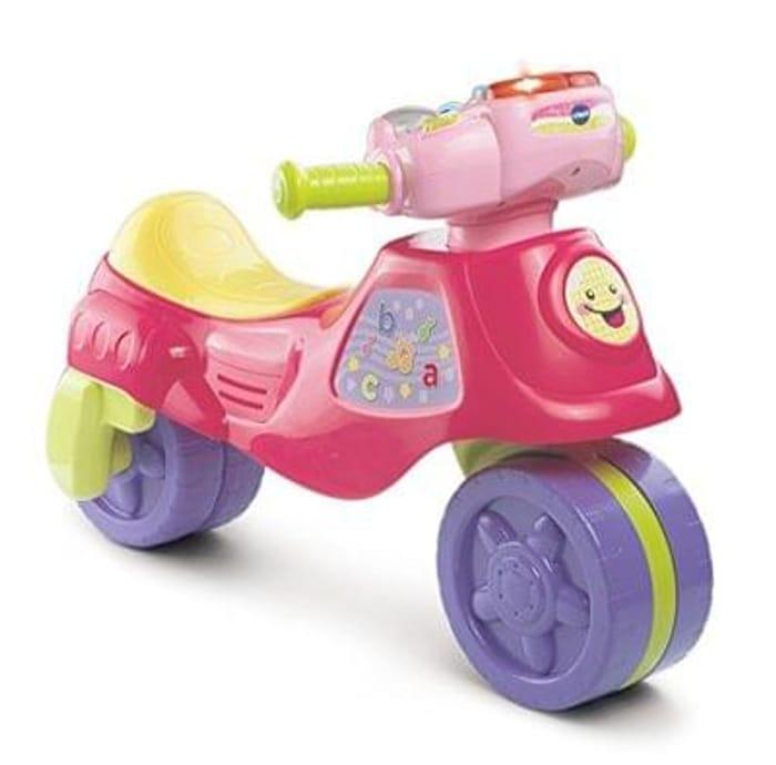 Vetch baby pink 2 in 1 trike to bike