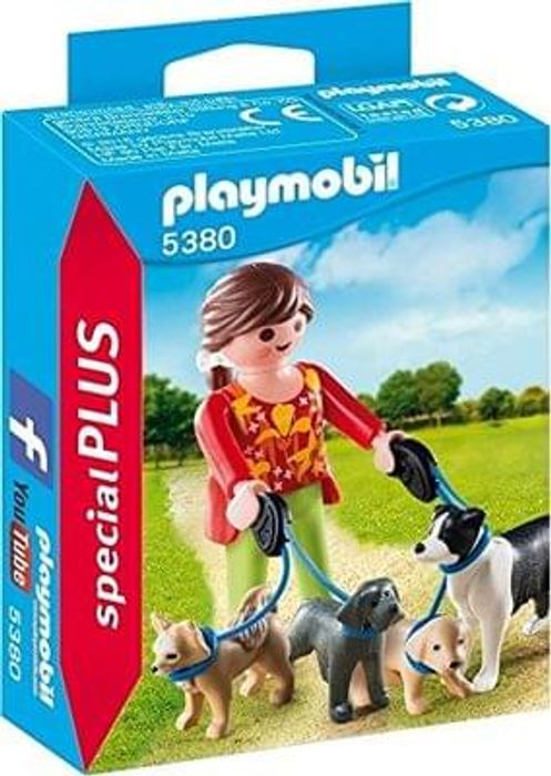 Playmobil Dog Walker Small Toy (Free Delivery)