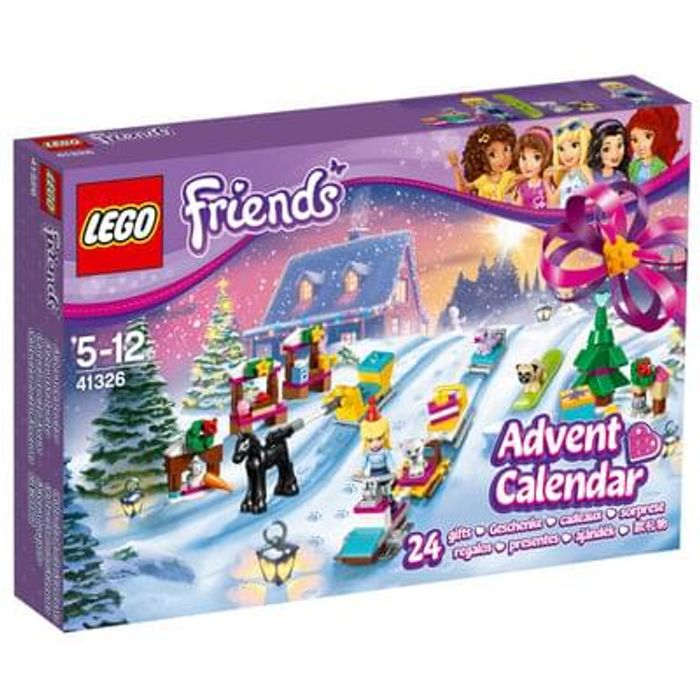 NEW LEGO FRIENDS ADVENT CALENDAR (41326). Buy it now while you can! FREE DEL.