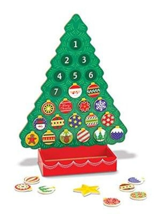 Melissa & Doug Wooden Advent Calendar. BUY NOW WHILE YOU CAN!