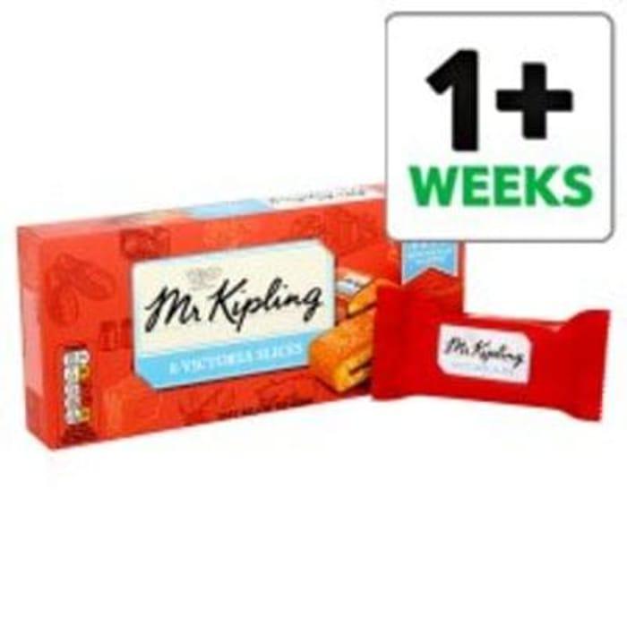 Mr Kipling Victoria Slices 6 Pack