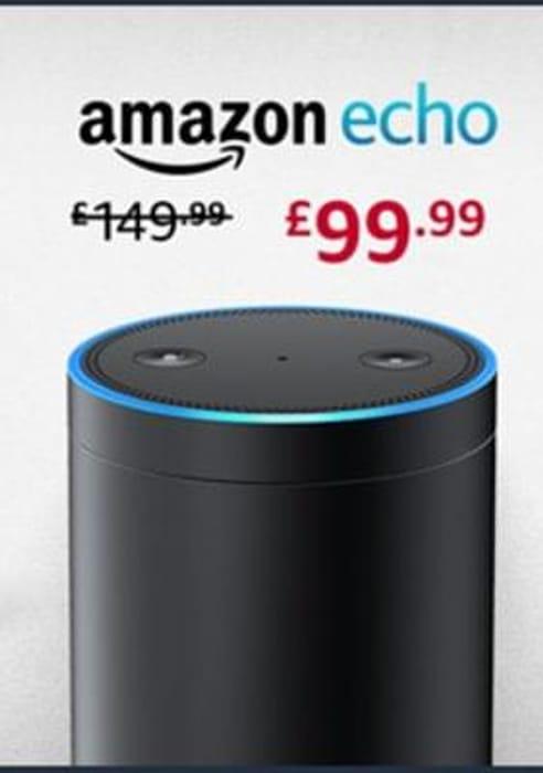 PRICE DROP! Amazon Echo. SAVE £50