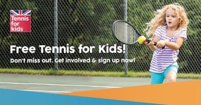 Free tennis lessons for kids
