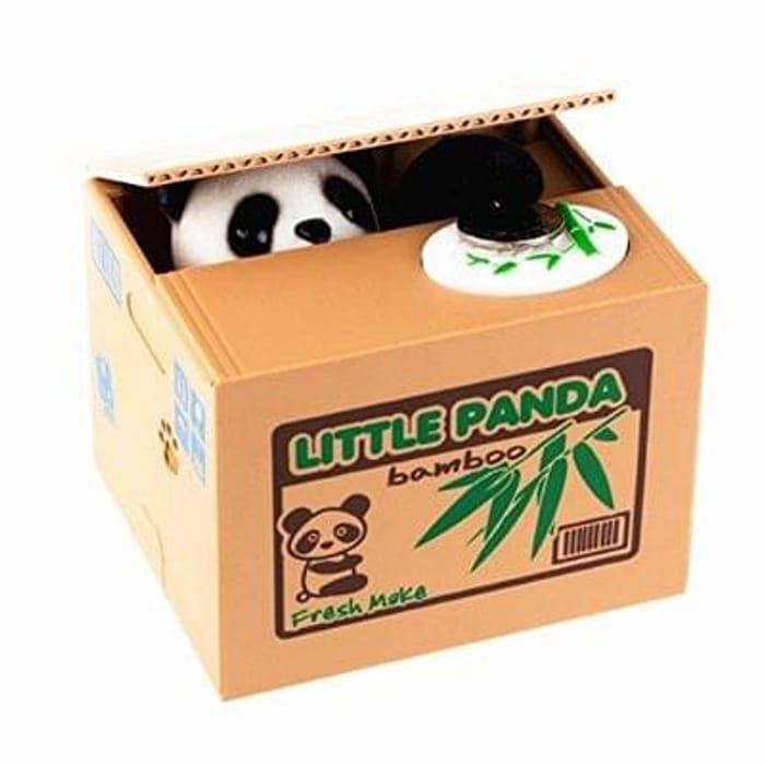 Little Panda Money Bank Saving Box