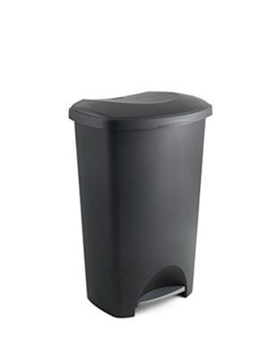 Addis Pedal Bin, Black or Cream 50 Litre at Amazon