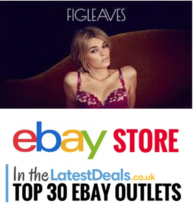 Gorgeous Lingerie. Low Low Prices! Figleaves eBay Store - up to 85% Off!