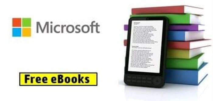 100s of Free Microsoft Technical eBooks