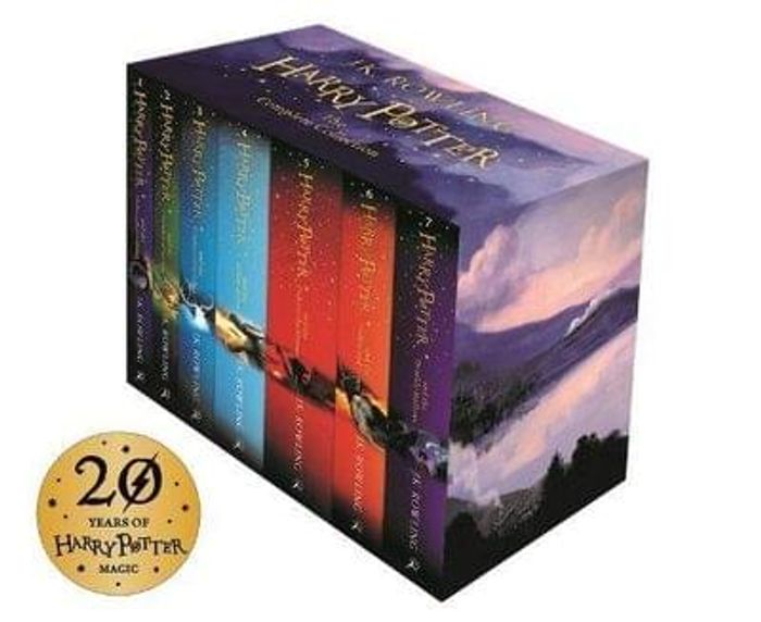 Harry potter book box set