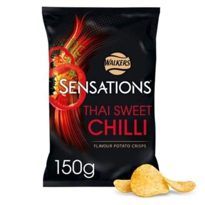 Sensations Thai Sweet Chilli crisps £1 at Morrisons