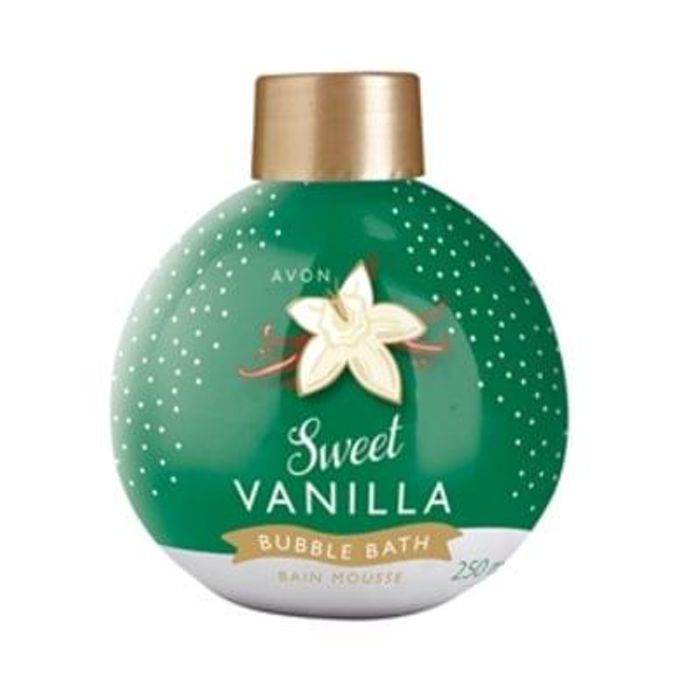 Avon Sweet Vanilla Bauble Bubble Bath