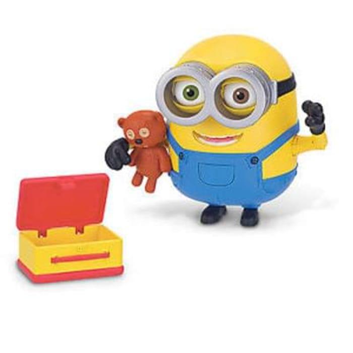 Minion Bob Action Figure With Bear Save £14.01