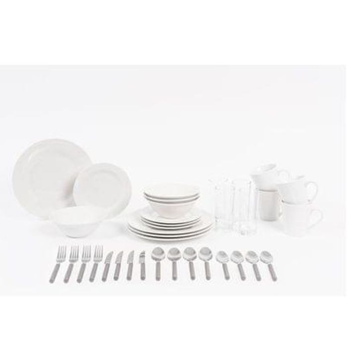Sabichi 36-Piece Dining Set Save £25 Free C+C