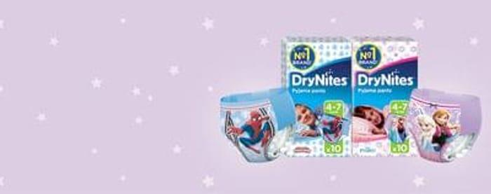 A Free DryNites® Sample pack