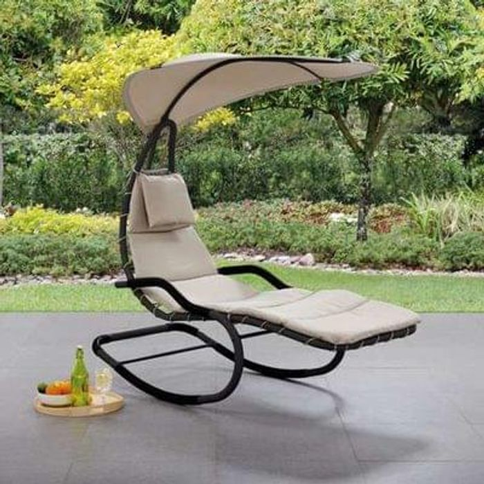 Helicopter Grey Chair *HALF PRICE* Free C+C