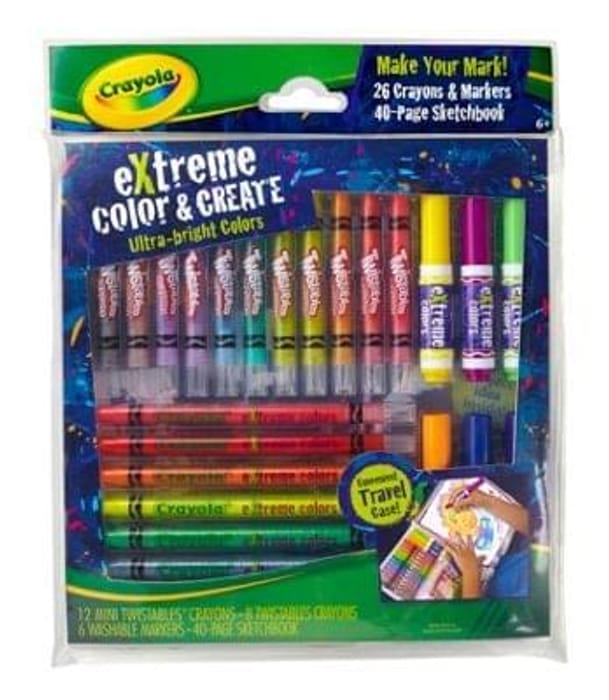 Crayola - Extreme Colour and Create Set