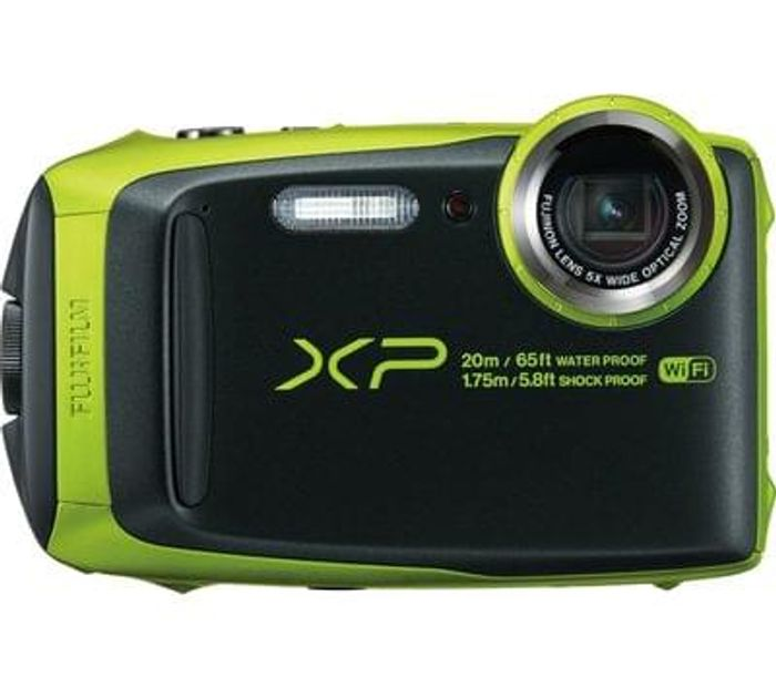 FUJIFILM XP120 Tough Compact Camera save £50 Free Delivery & C+C