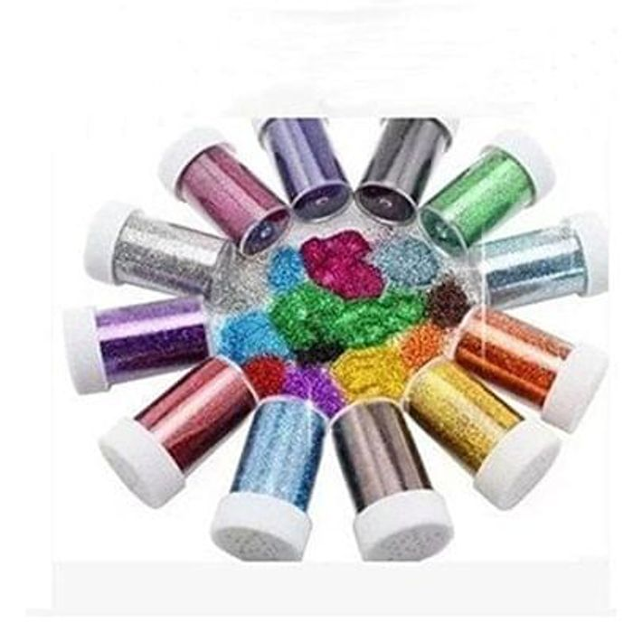 Glitter Shakers for Children for Crafts 6 pcs