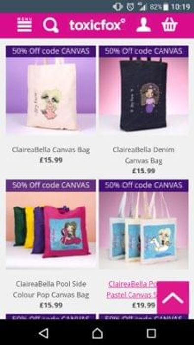 Personalised Canvas Bags