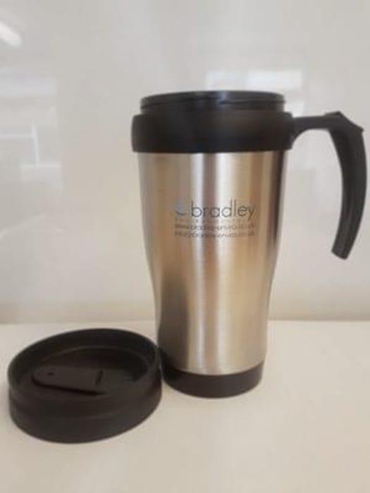 Free stainless steel mug