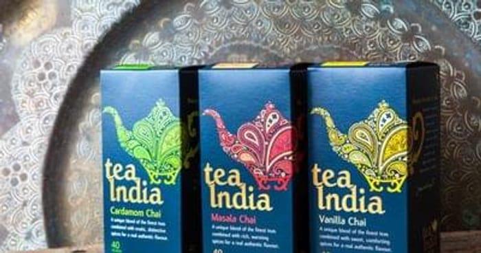 Vanilla chai tea samples