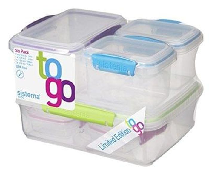Sistema To Go Food Storage Containers on Amazon