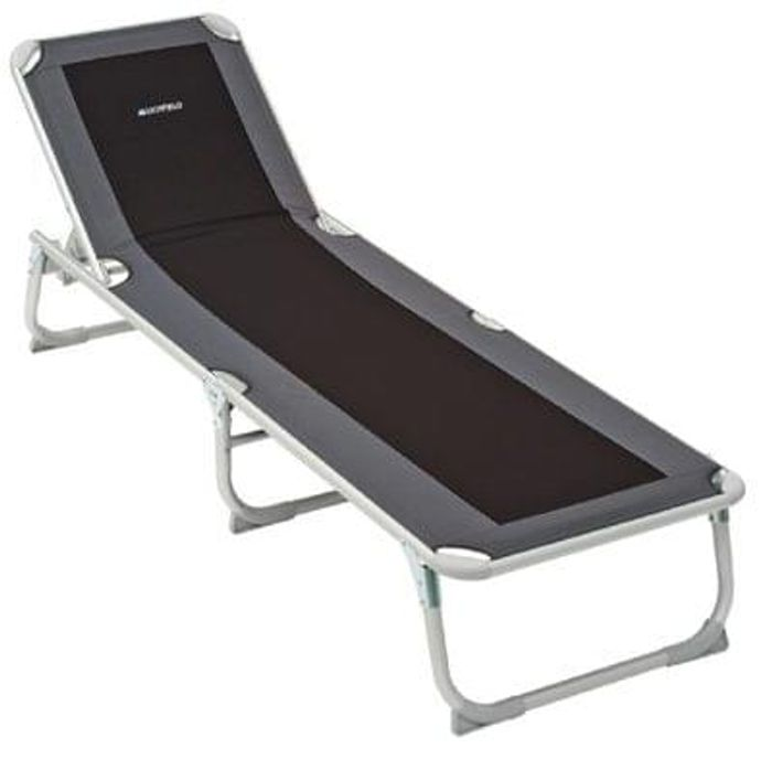 Lichfield Deluxe Camp Sun Lounger Save £47.80 Free Delivery
