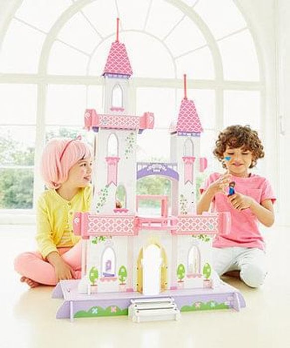 Rosebud Fairy-tale Palace Dolls House Great Deal - Save £40!