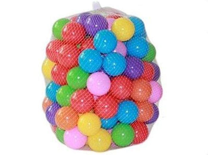 Leisial 50PCS Ocean Ball Colourful Balls Soft Plastic Save £2.10 Delivery £1.89